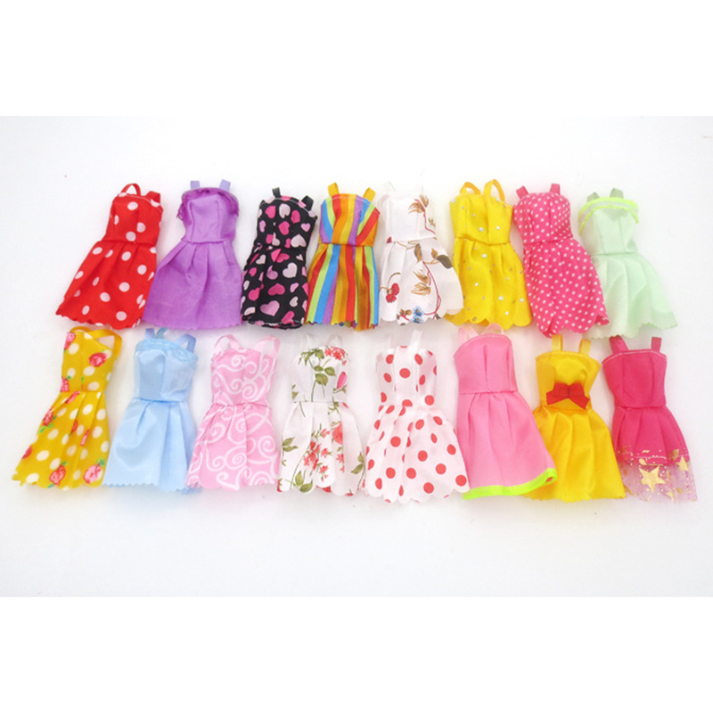 [EU Direct] Fashion Party Dress Princess Gown Clothes Outfit for 11in doll (Style Random)