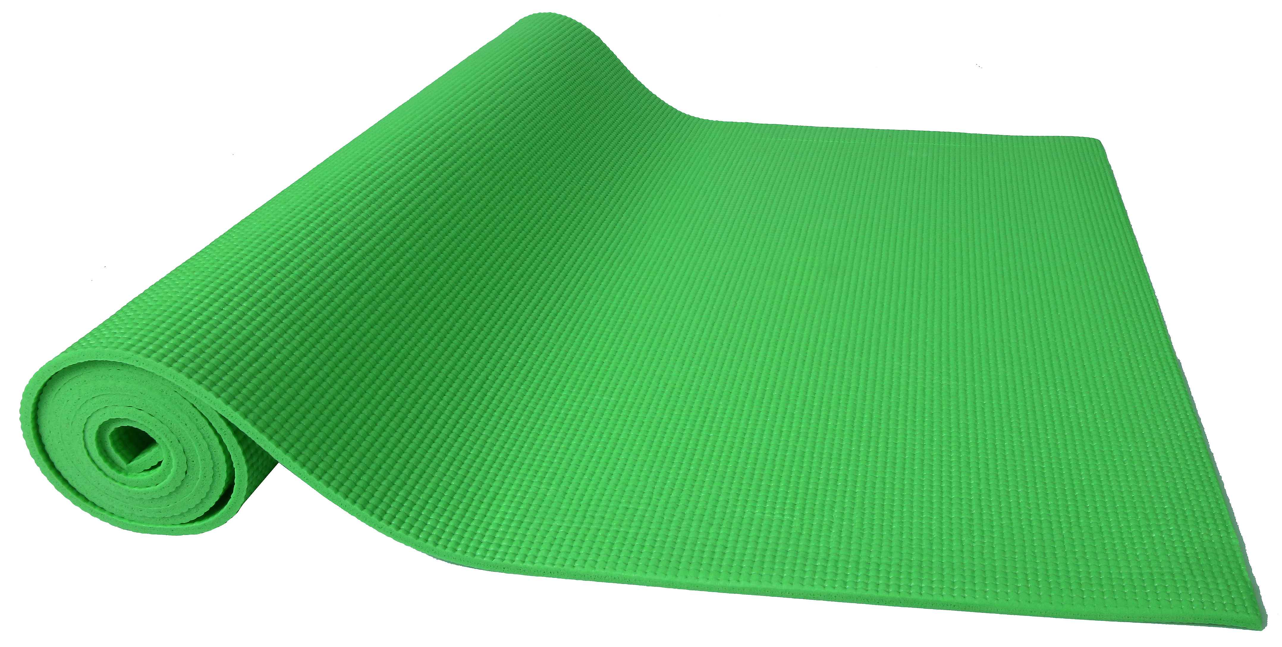 [US Direct] Original BalanceFrom GoYoga All Purpose High Density Non-Slip Exercise Yoga Mat with Carrying Strap, Blue Green