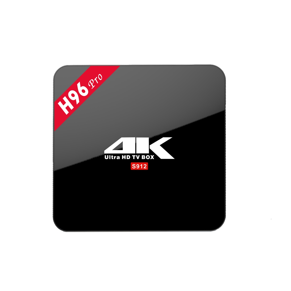 [EU Direct] Android 6.0 BT4.0 TV Box Amlogic S912 64bit Octa-core 3+16GB Kodi Fully Loaded H.265 4K Streaming Media Player EURO