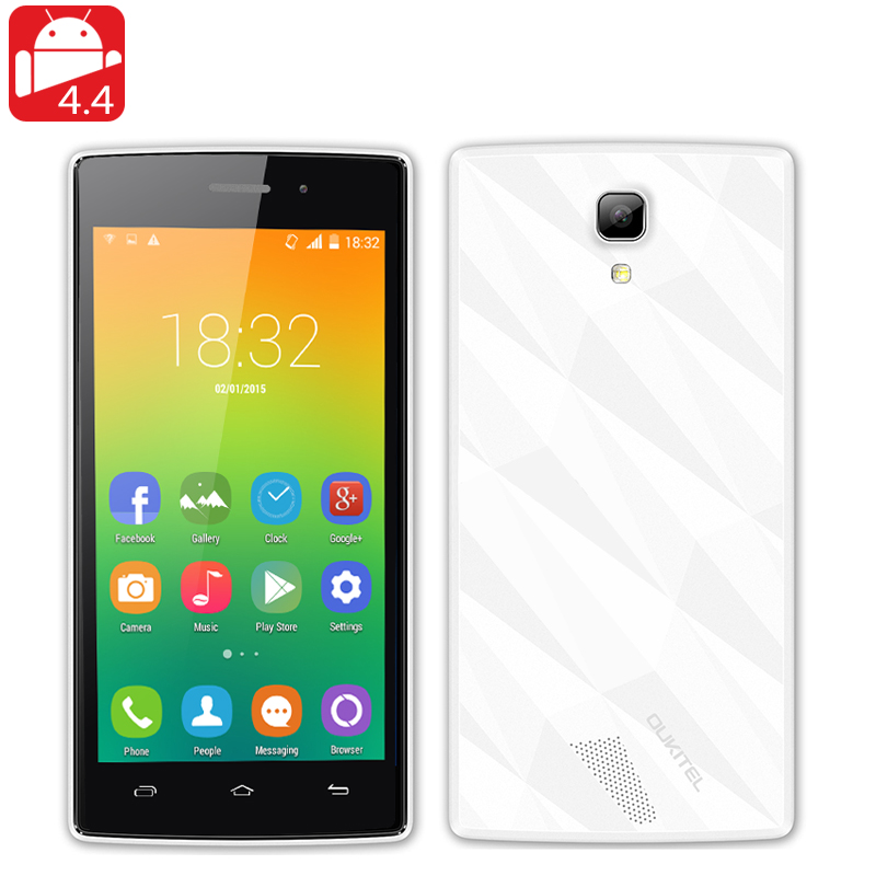 OUKITEL Original One Smartphone (White)