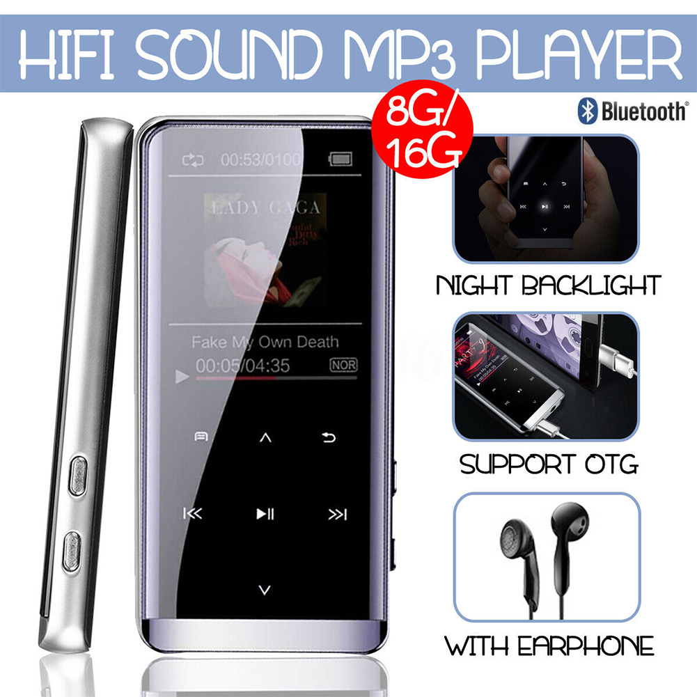Large Memory English Version JNN M13 Bluetooth Lossless HIFI Music MP3 Player