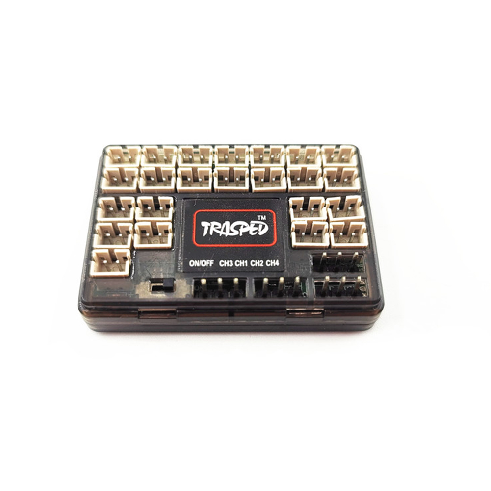 HG-P408 RC 4*4 Hummer Military Vehicle Car spare parts HG-RX1017  IC Mainboard with LED Light Set IC board