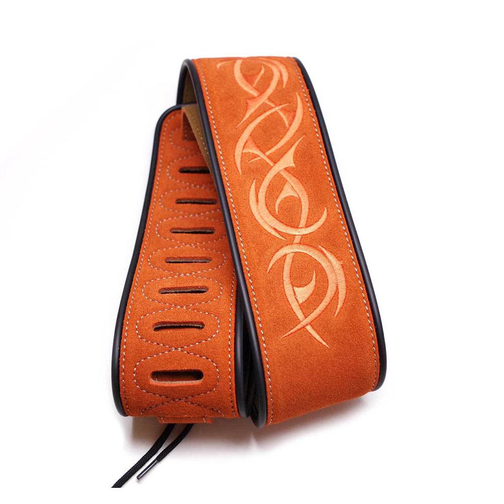 Matte Leather Soft Guitar Strap Adjustable Acoustic Electric Bass Strap Guitar Belt Guitar Parts Accessories stripe