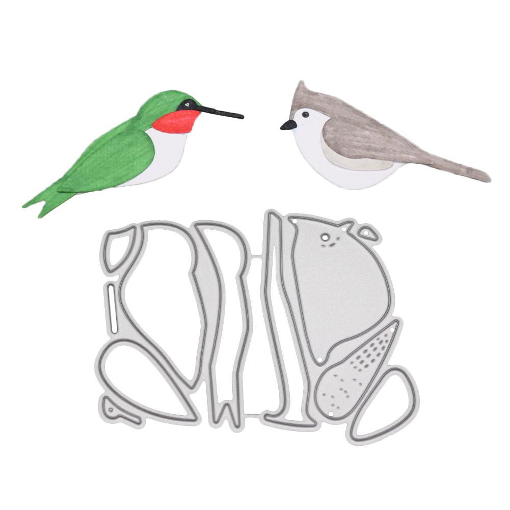 2018 Dies Two Birds Craft Die for Scrapbooking DIY Decoration