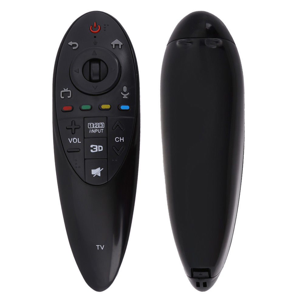 Practical Black Remote Control with 3D Function Intelligent TV Controllers for LG AN-MR500G ANMR500 Home Supplies English version