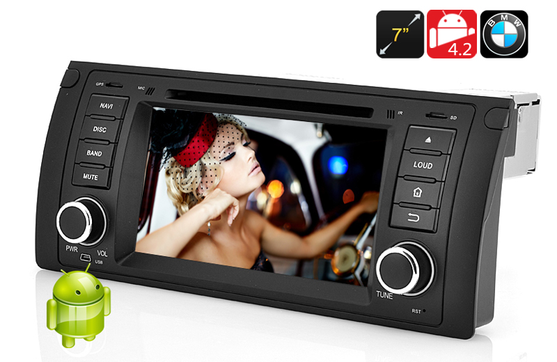 1 DIN Android 4.2 Car DVD Player for BMW E39
