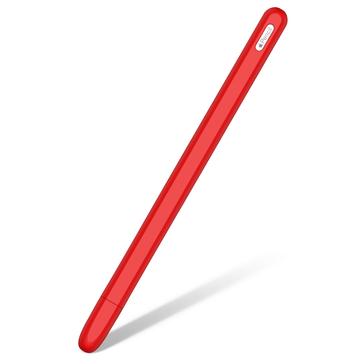 Silicone Case For Apple Pencil 2 Cradle Stand Holder For iPad Pro Stylus Pen Protective Cover red