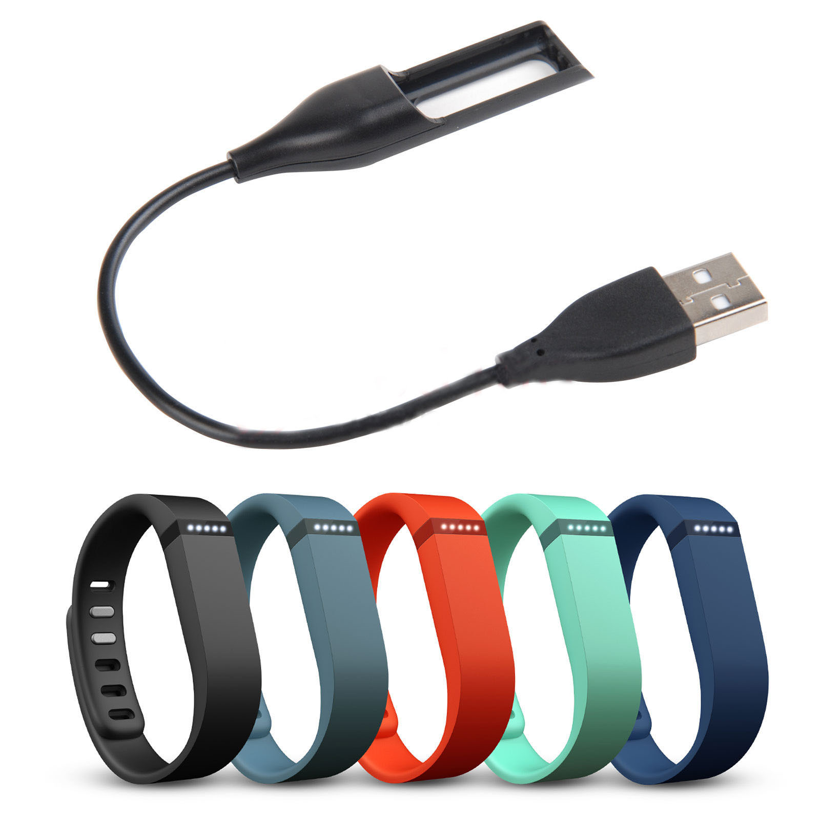 Eastvita Hot Sale New USB Charging Wire Cable Cord Charger for Fitbit Flex Band Bracelet Wristband Best Price Gift