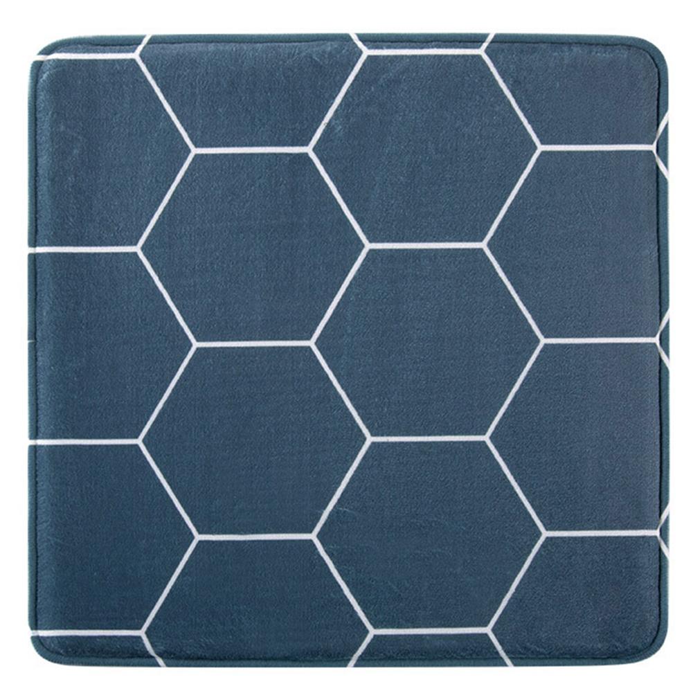 1 Pc New Memory Foam Printed Slow Rebound Chair Car Sofa Cushions Seat cushion geometry_40 * 40cm