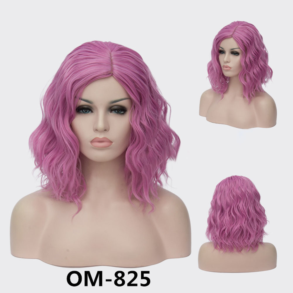 Women Girl Short Wig Synthetic Full Hair Wigs Cosplay Daily Party Wig Natural As Real Hair