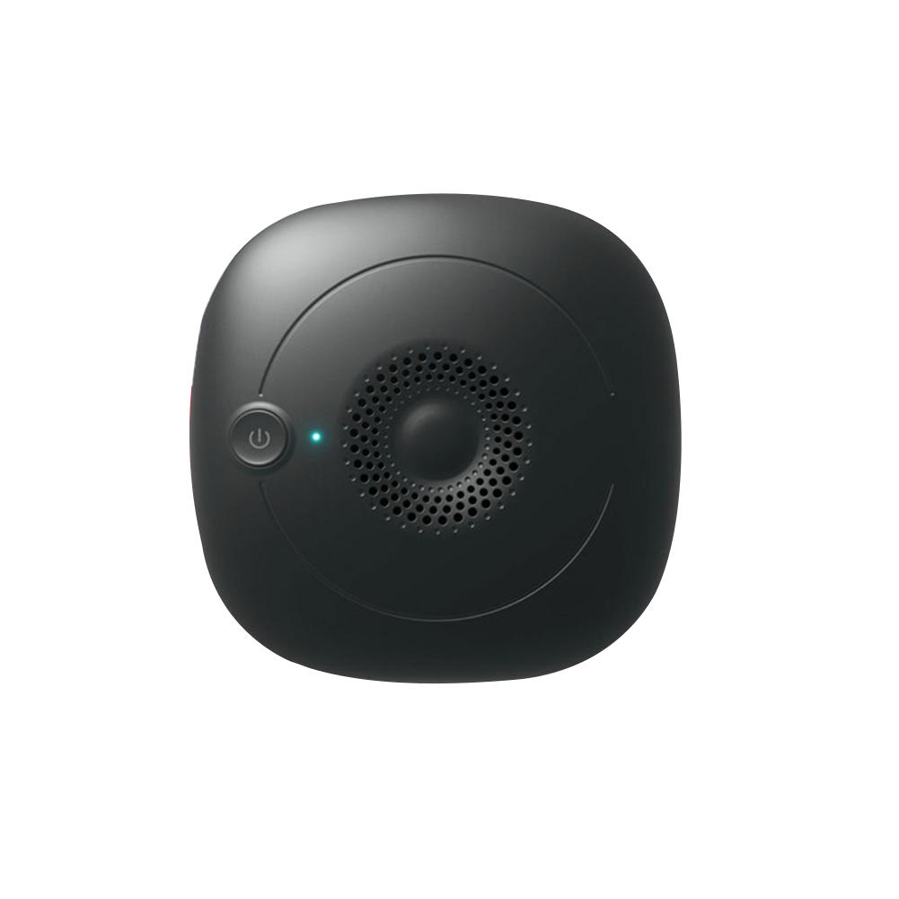 Ultrasonic Pest Repeller Dust Mite Controller Killer for Home Room Bed black