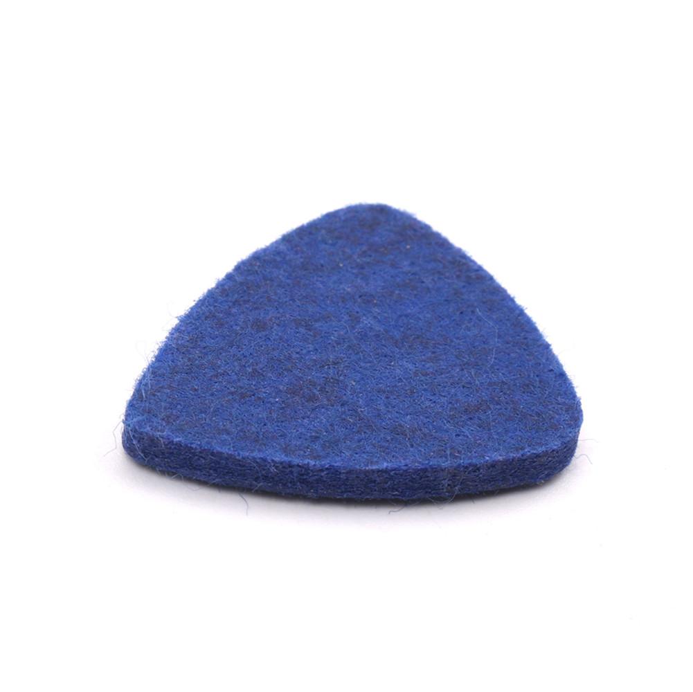 Colorful Ukulele Wool Picks Wool Felt Picks for Ukulele blue