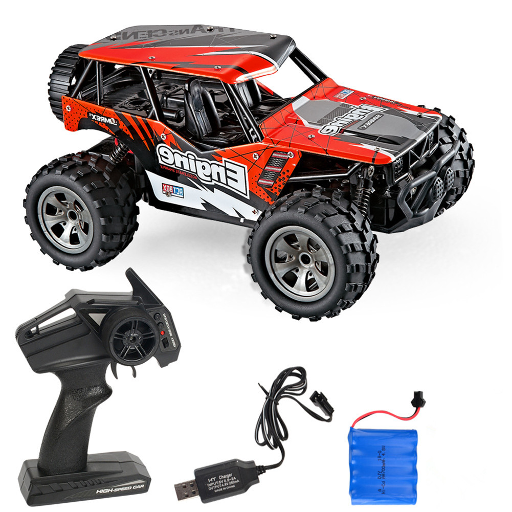 Rc  Car Remote Control High Speed Vehicle 2.4ghz Electric Toy Model Gift 680 red