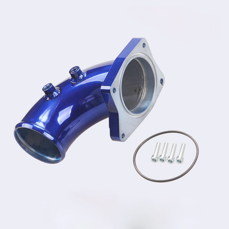 Auto Car Exhaust Pipe Kit Blue For Ford 03-07 6.0L  blue