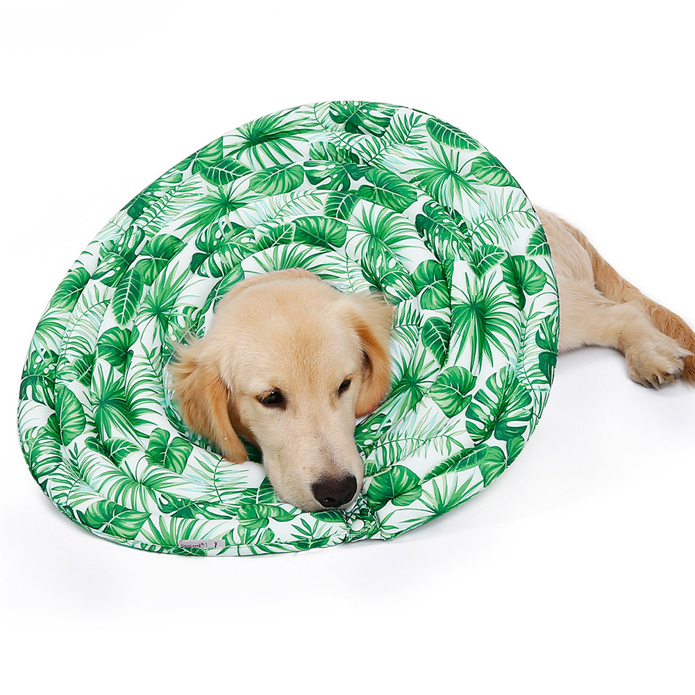 Wound Healing Collar Dogs Cats Medical Protection Neck Ring green_M