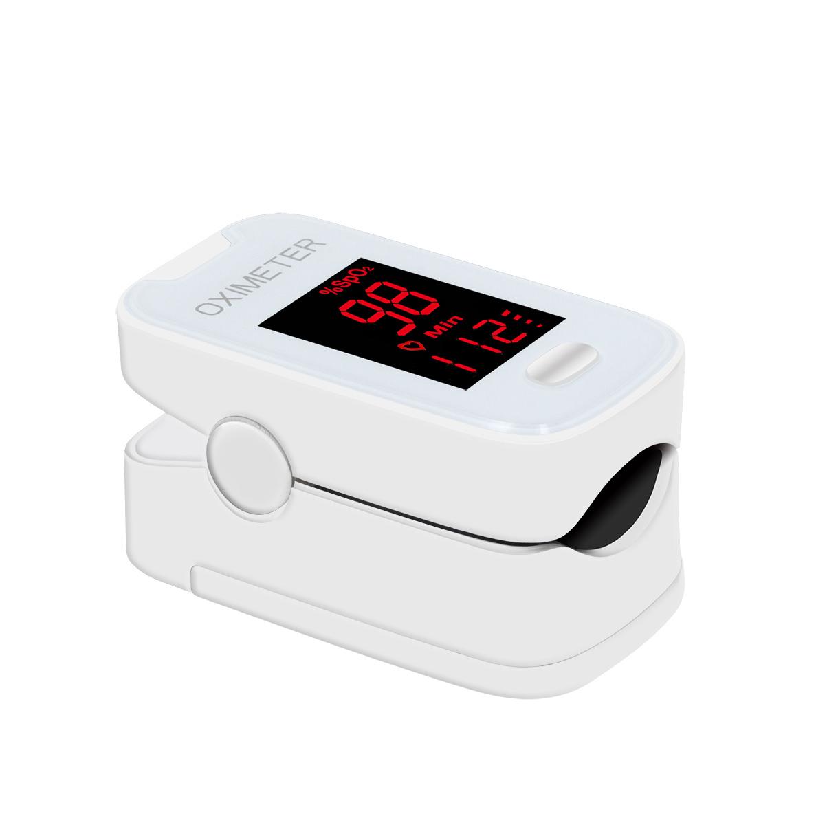 Medical Portable Pulse Oximeter LED Spo2 Blood Oxygen Heart Rate Monitor Household Health
