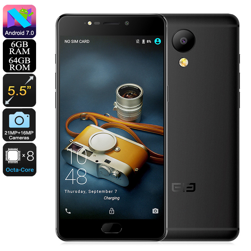 Elephone P8 Android Phone (Black)