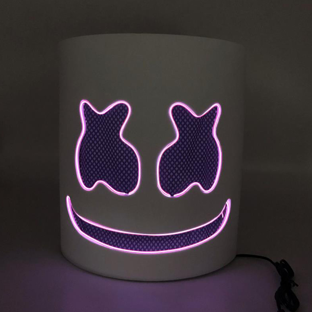 Unique Luminous Mask for Bar Party Wear purple