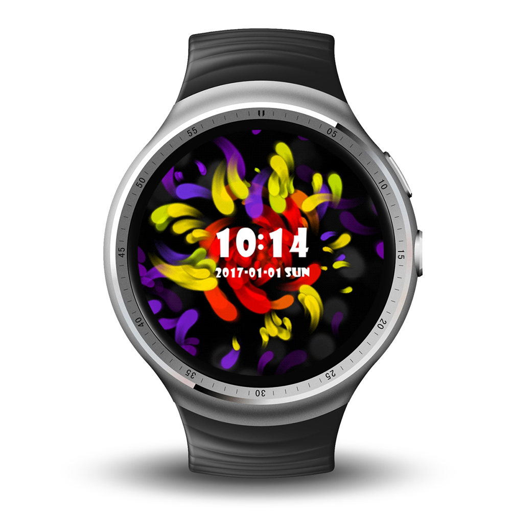 LES 1 Smart Watch Phone - Silver