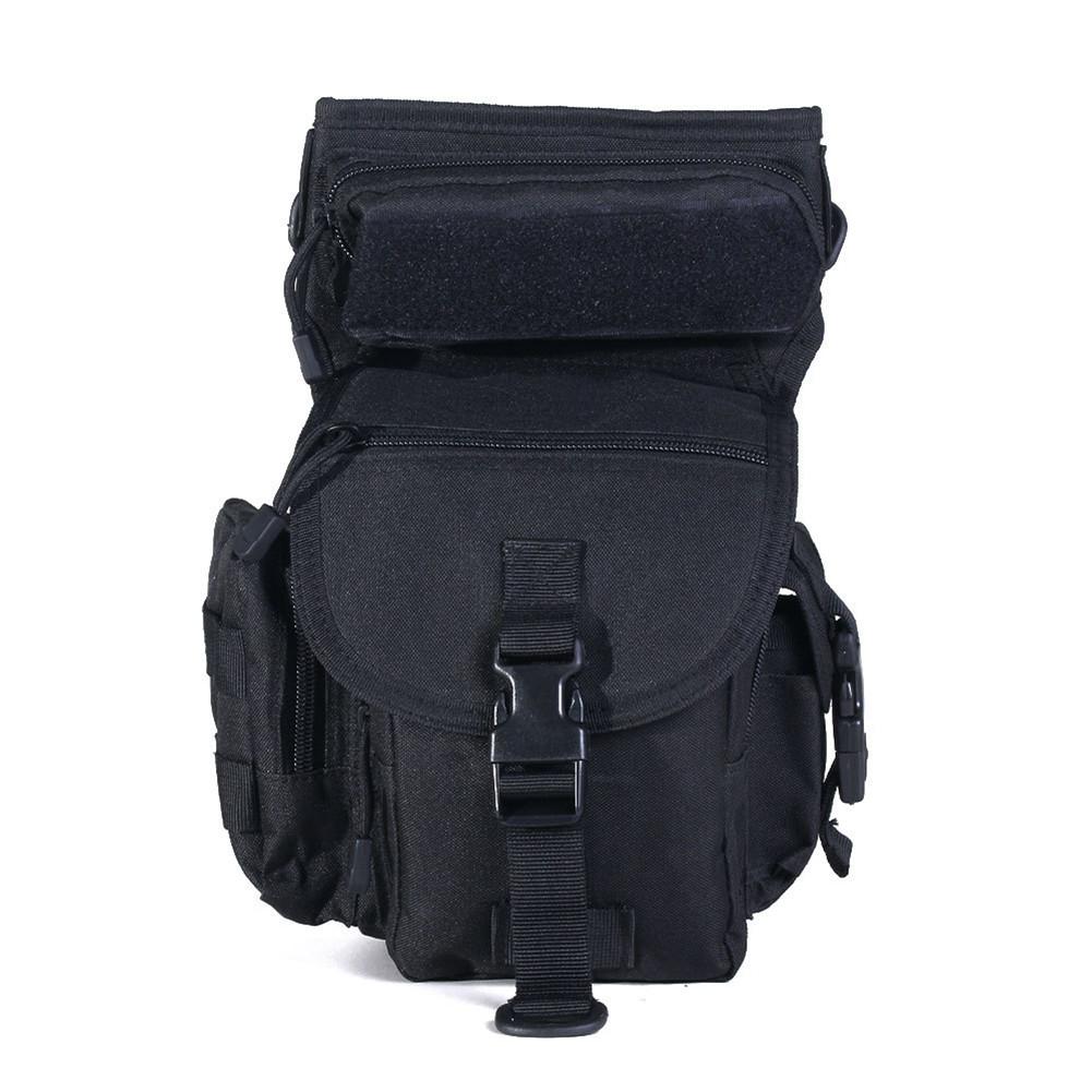 Fishing Tackle Storage Bag Fishing-Backpack for Outdoor Gear Storage Tackle Bag Waterproof Outdoor legs Bag  1#black