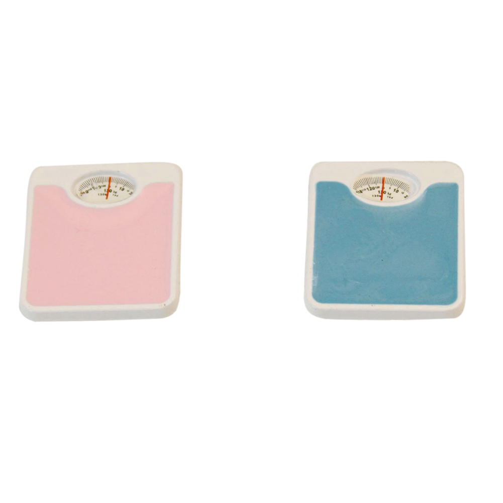 Mini Simulation Weigh Scale Modeling Toy for 1:12 Doll House Accessories