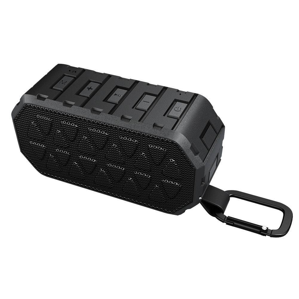 Portable Bluetooth 4.2 Wireless Speaker with Dual 10W Driver Deep Bass Shockproof And Waterproof Hands-Free Speakerphone for Outdoor Beach, Shower And Home