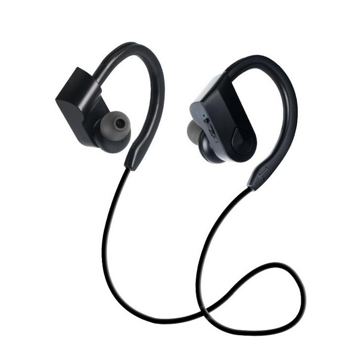 K98 Sports headset Sports Waterproof Wireless Bluetooth Stereo Headphones Headset Earphone black