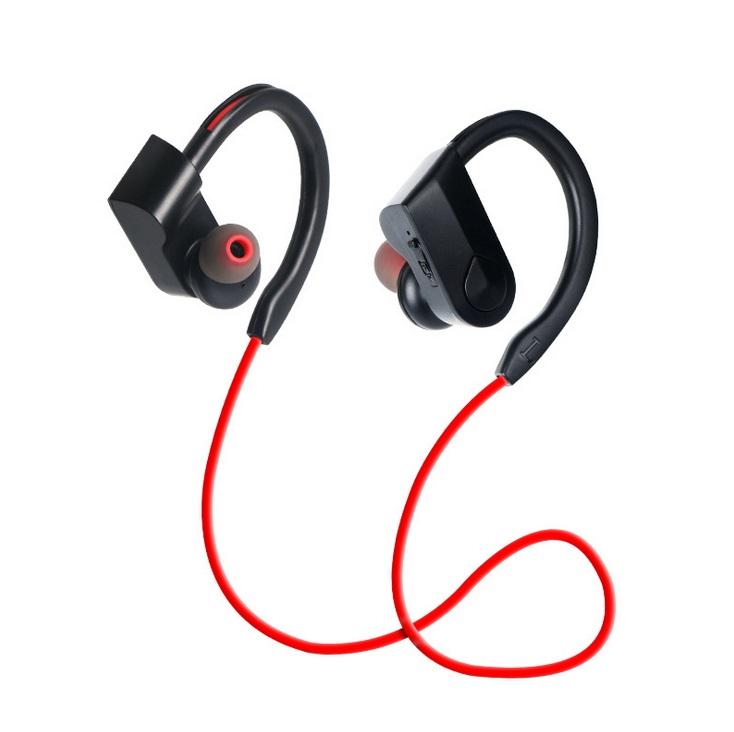 K98 Sports headset Sports Waterproof Wireless Bluetooth Stereo Headphones Headset Earphone red