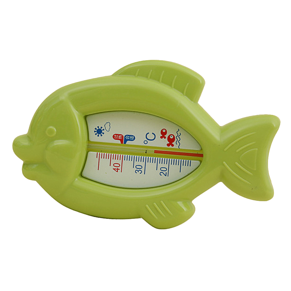 Cartoon Fish Shape Wet Dry Water Thermometer for Baby Bathing