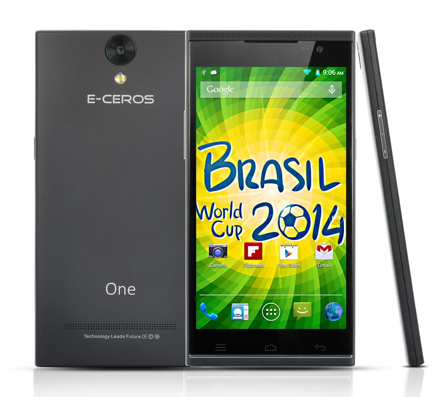 E-Ceros One Android Smartphone (Black)