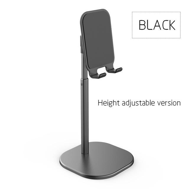 Adjustable Desktop Stand Desk Holder Mount Cradle for Cell Phone Tablet Switch black