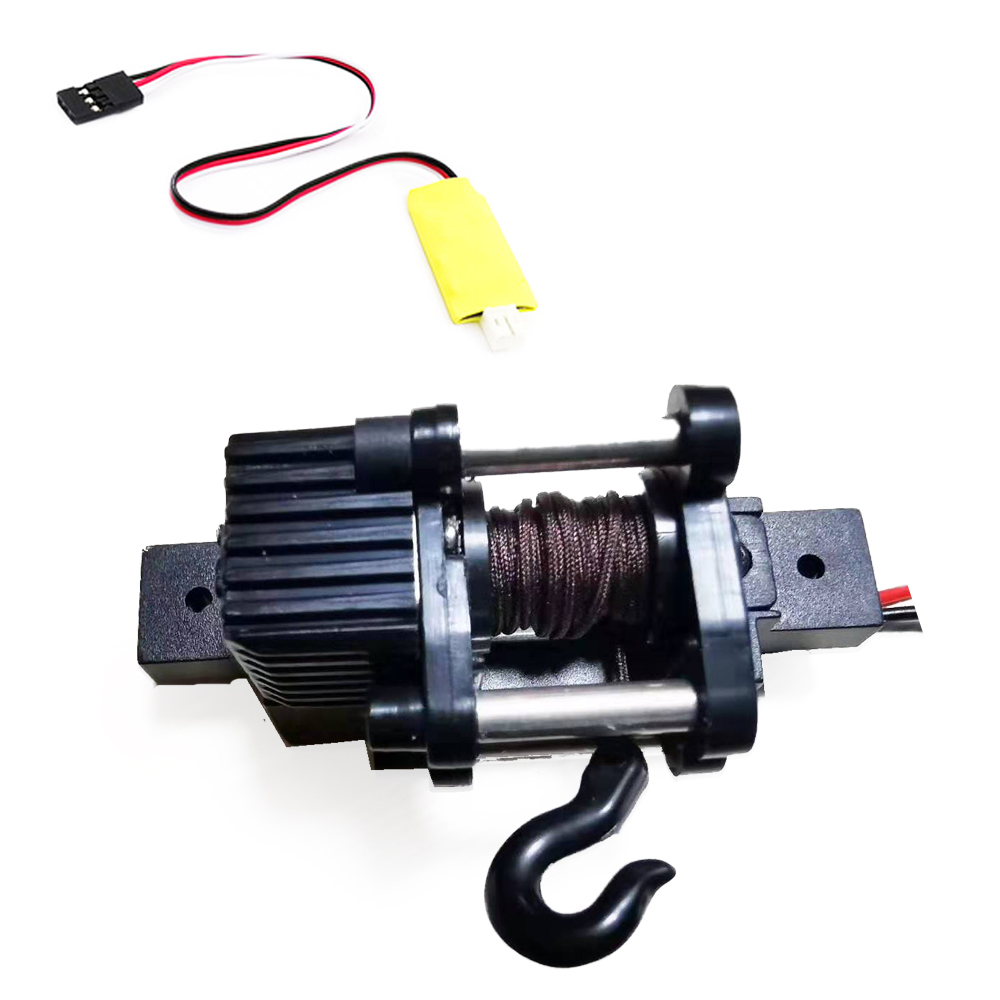 WPL Automatic Winch  for 1/16 RC Car WPL C34 C34K C34KM  with 3-channel control line