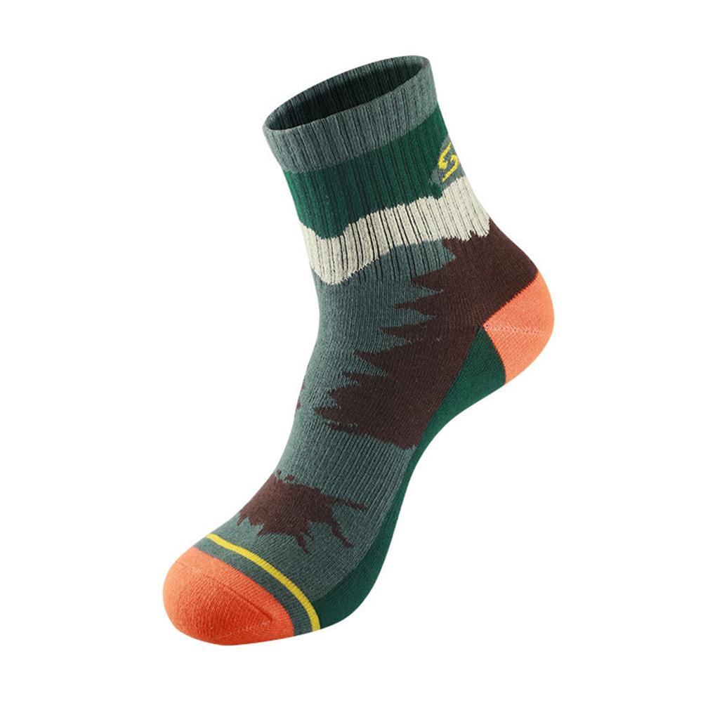 Men Outdoor Qucik-Drying Socks Breathable Sports Socks For Hiking Traveling  Bush camouflage