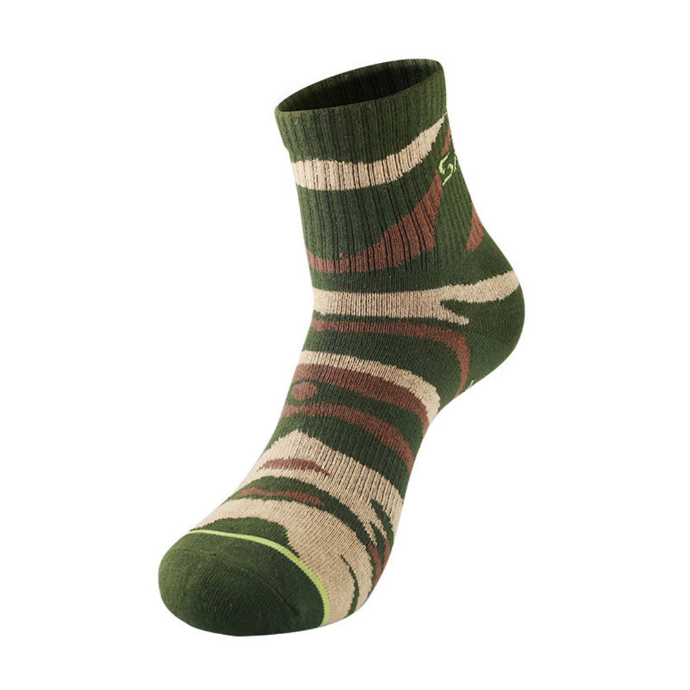 Men Outdoor Qucik-Drying Socks Breathable Sports Socks For Hiking Traveling  Jungle camouflage