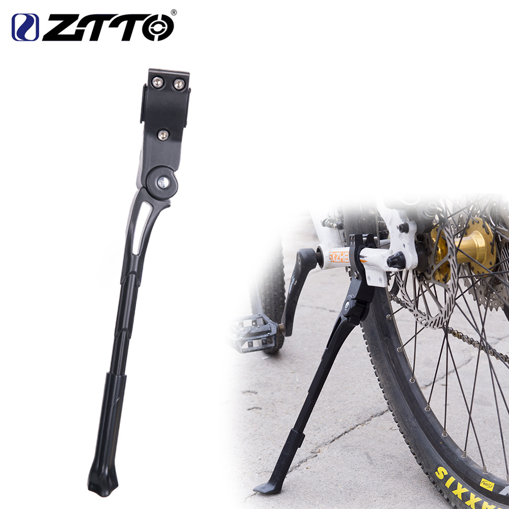 Bicycle Equipment Accessories Mountain Bike Support MTB Kickstand Side Support Parking Frame Support Bicycle Accessories black