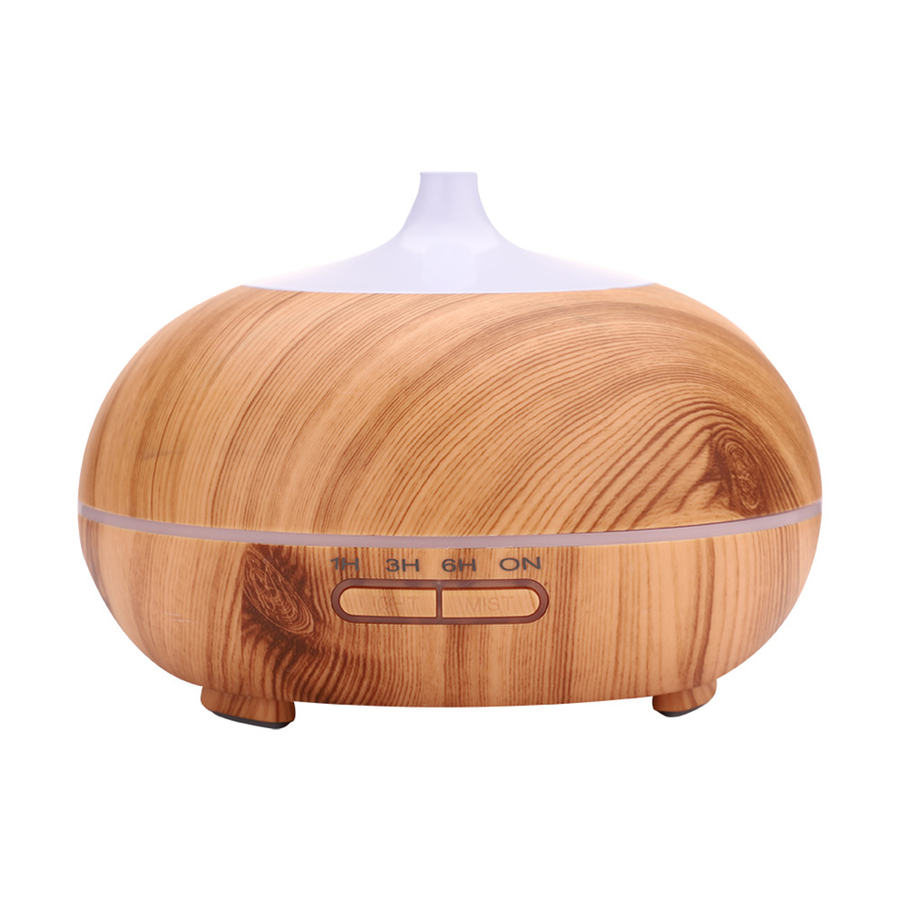 300ML Light Wood Grain Air humidifier UK Plug