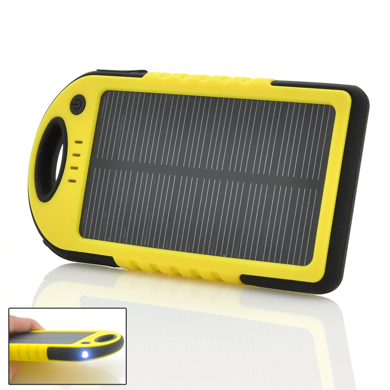 wholesale solar powered charger 5000mah portable charger from china. Black Bedroom Furniture Sets. Home Design Ideas