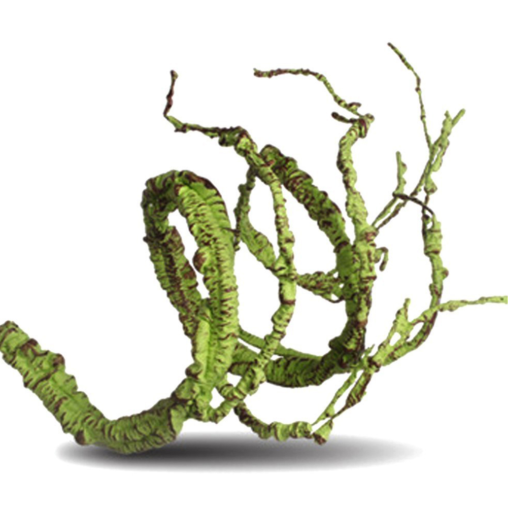 Flexible Bendable Artificial Tree Vine Jungle Vines Pet Habitat Decor for Lizard Frogs Snakes and More Reptiles  Short style