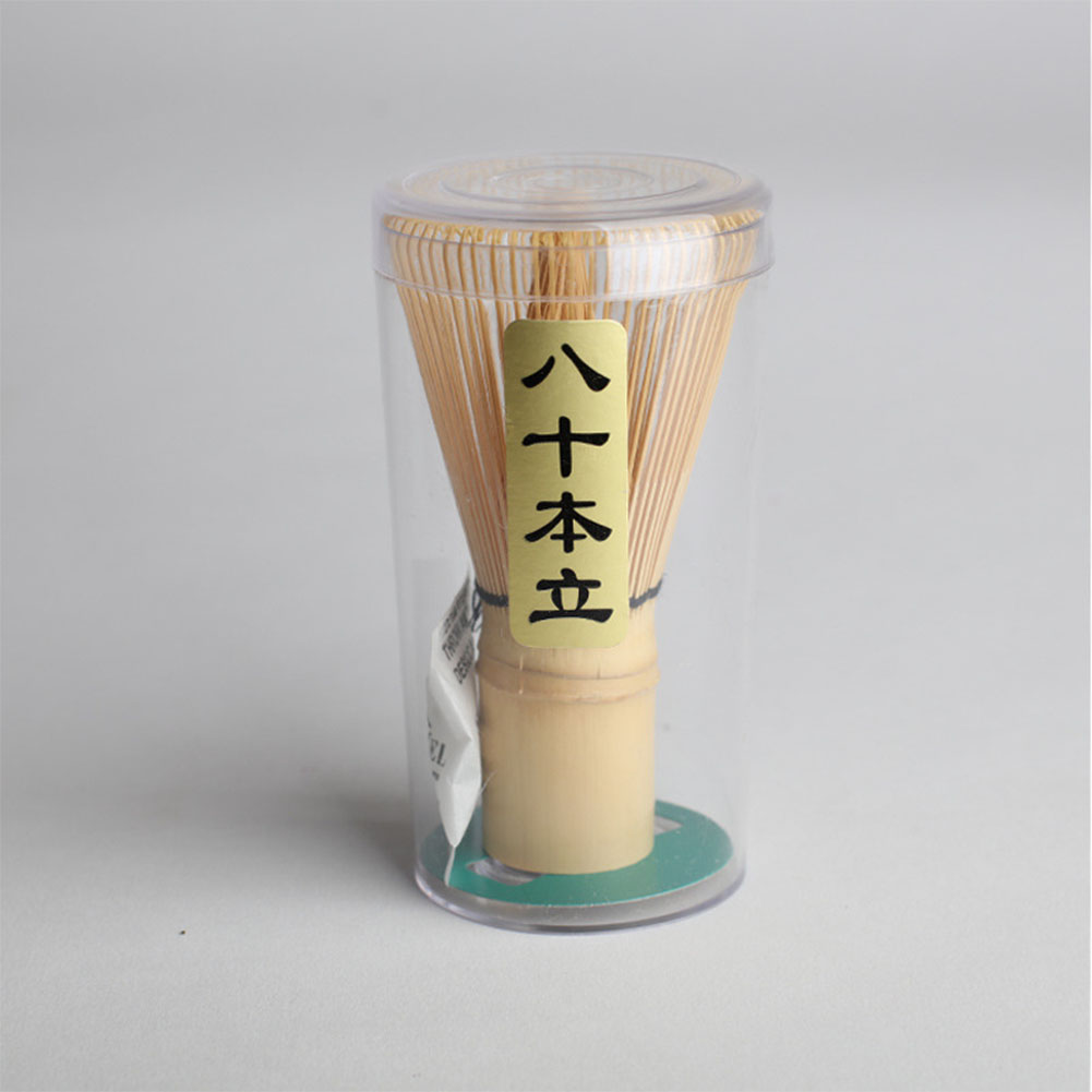 Exquisite Tea Whisk Tea Ceremony Accessories Tea Tool with Ergonomic Handle size 3