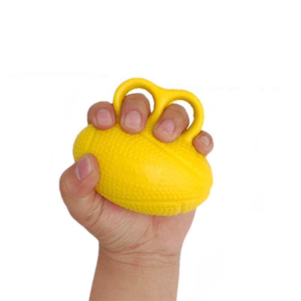 Finger Gripping Ball Finger Strength Strength Trainer Hemiplegic Rehabilitation Equipment Gripper yellow