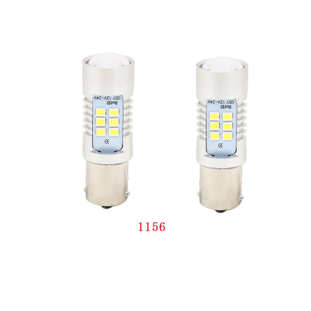 1 Pair Car Signal Lamp 2835 LED Stop Lamp Backup Light Steering Lamp 1156