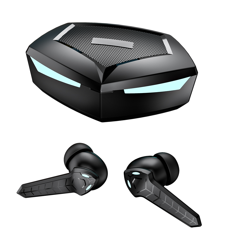 P36 Wireless Bluetooth  Headset Bluetooth 5.1 Automatic Pairing Hifi Sound Quality Single And Double Ear Switchable black
