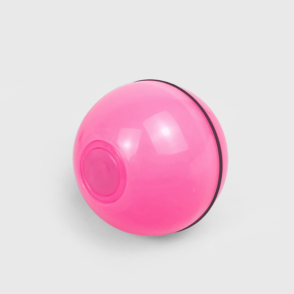 Interactive Cat Toy Ball Usb Rechargeable Automatic Rotating Electronic Pet Toy Rechargeable red_Approximately 6.4cm in diameter