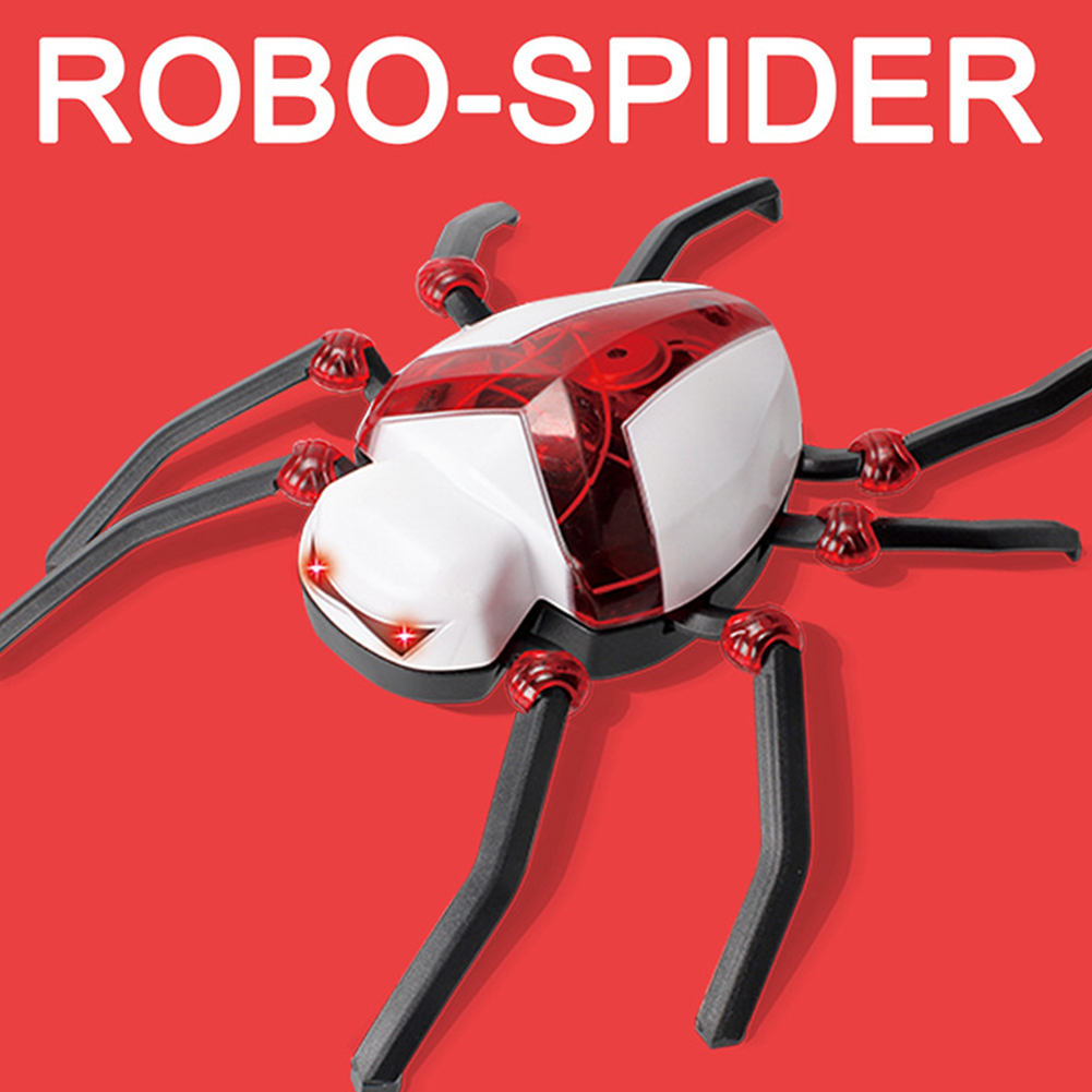 RC Electric Dinosaur Remote Control Electronic Robot With Light Sound for Kids Children Gift Toys spider