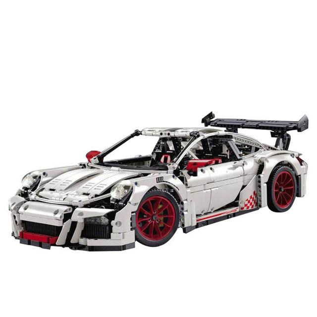 Lepin 20086 20001 Technic Series Building Blocks Bricks Super Race Car Compatible Legoing 42083 42056 Christmas Gift