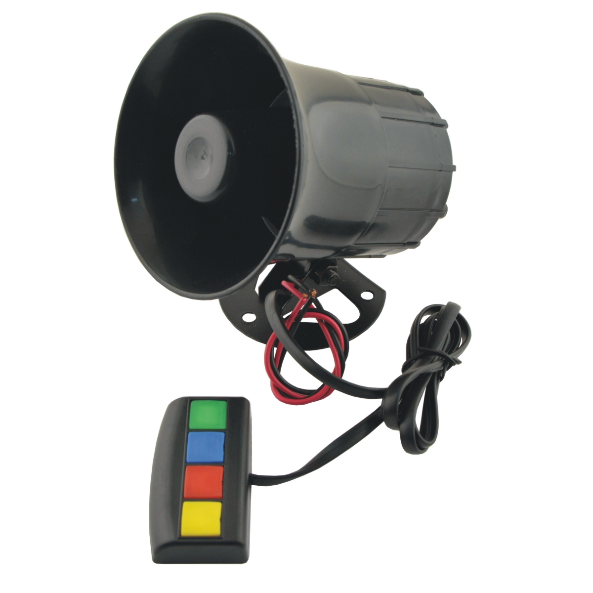Universal Motorbike Vehicle Car 4 Sound/Tone 12V Warn Loud Horn/Siren Trumpet CS1218