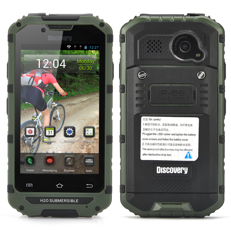 4 Inch Rugged Android Smartphone (Green)