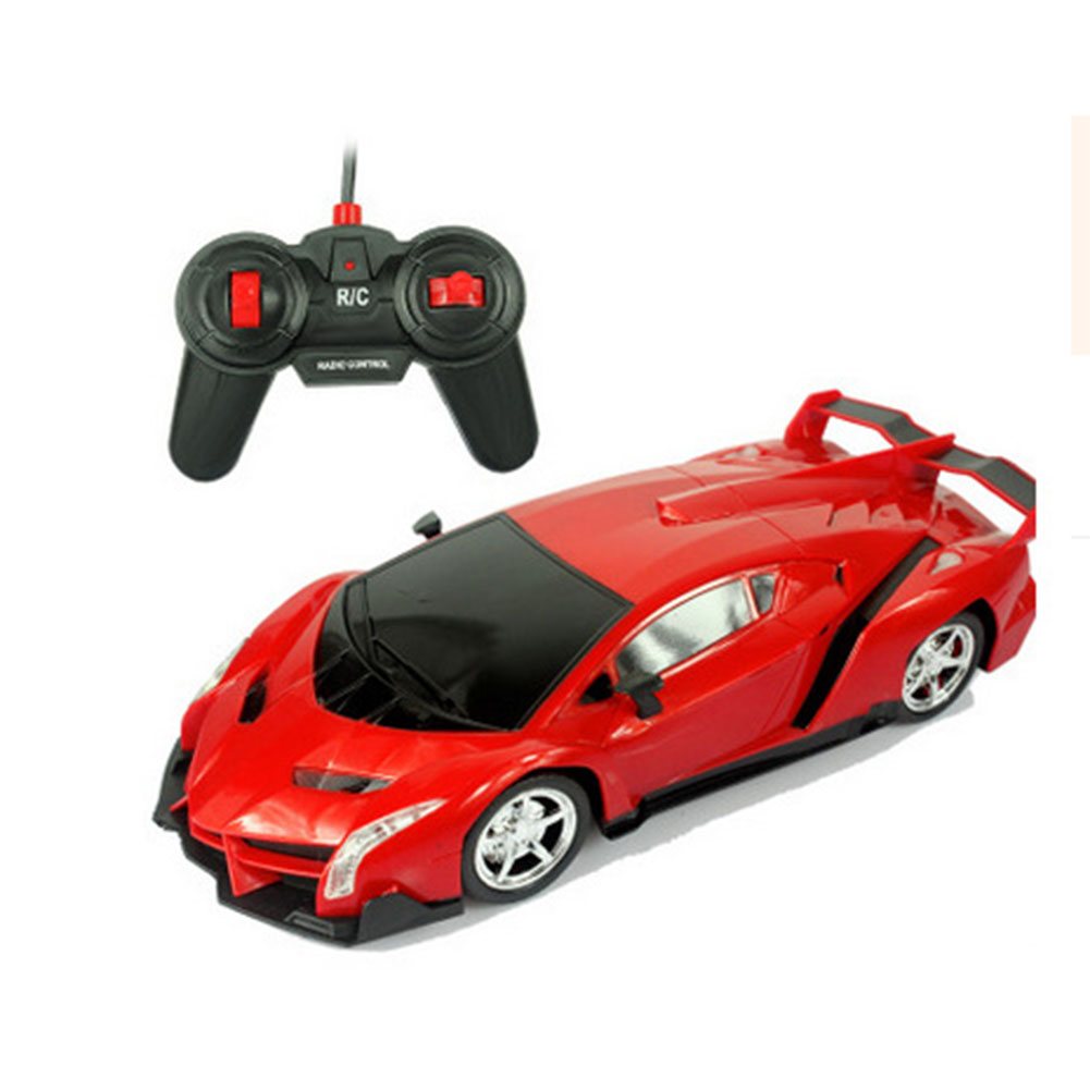 Cool Electric Remote Controlled Racing Sports Car Toy for Kids Boys Lamborghini red_1:16