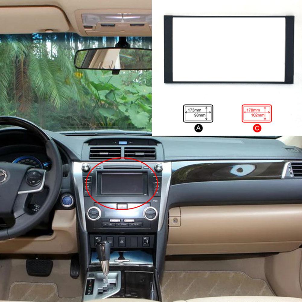 Car Refitting DVD Frame Panel Dash Kit for Toyota Camry etc C