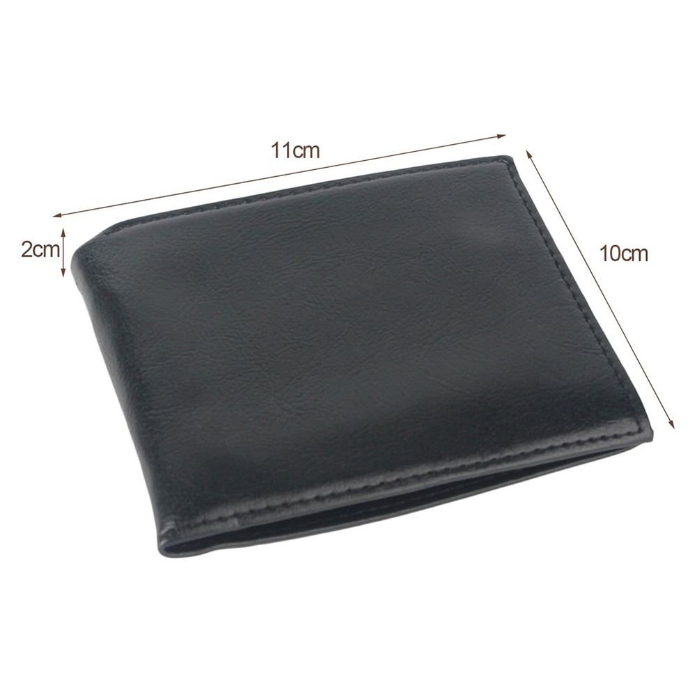 Novelty Magic Trick Flame Fire Wallet Magician Trick Wallet Stage Street Show Bifold Wallet  black